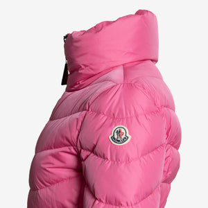 Moncler Miriel Semi-Fit Puffer Jacket Size 00 in Pink