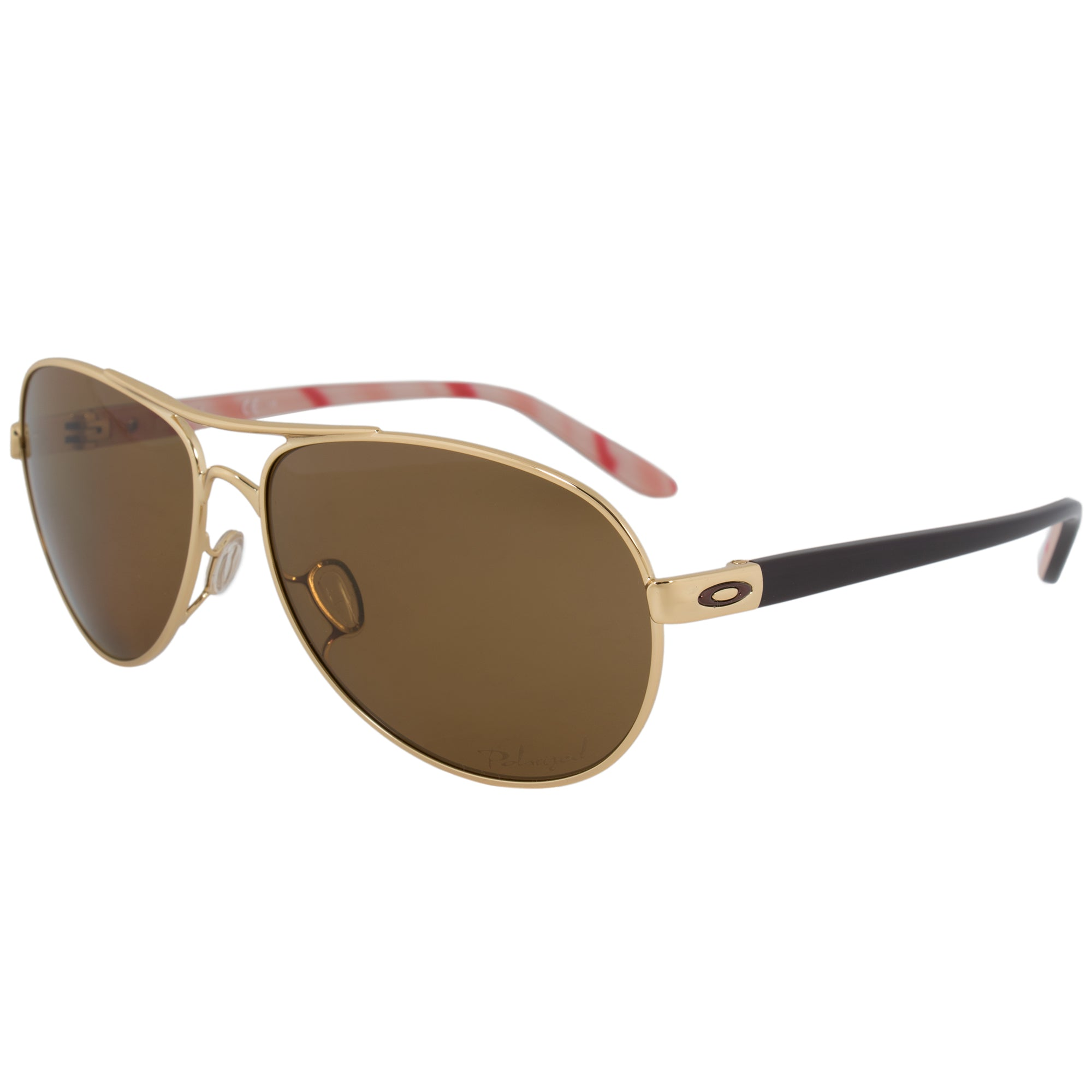 Oakley Feedback Pilot Sunglasses 0OO4079 407908 59 POL | Gold Frame | Polarized Brown Lenses