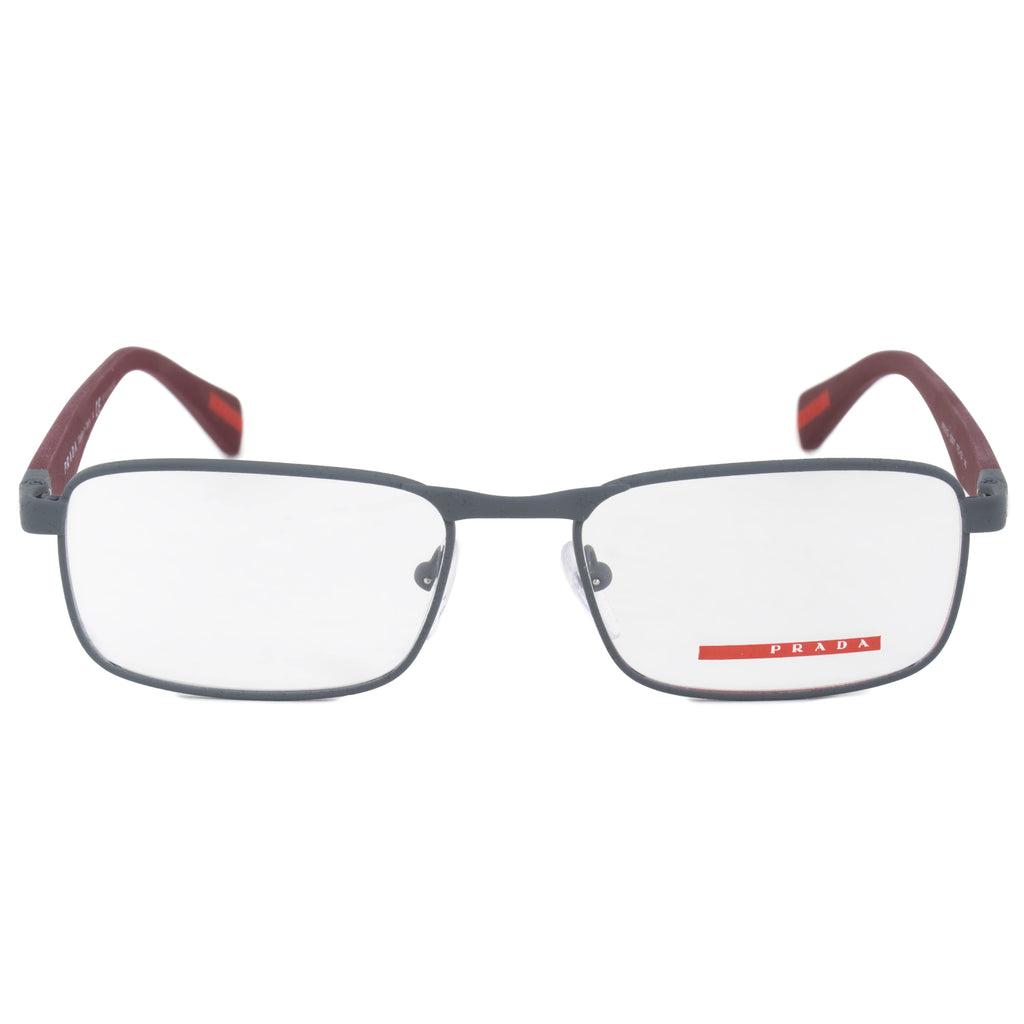 Prada 0PS51GV  TFZ1O1  Rectangular | Matte Grey| Eyeglass Frames