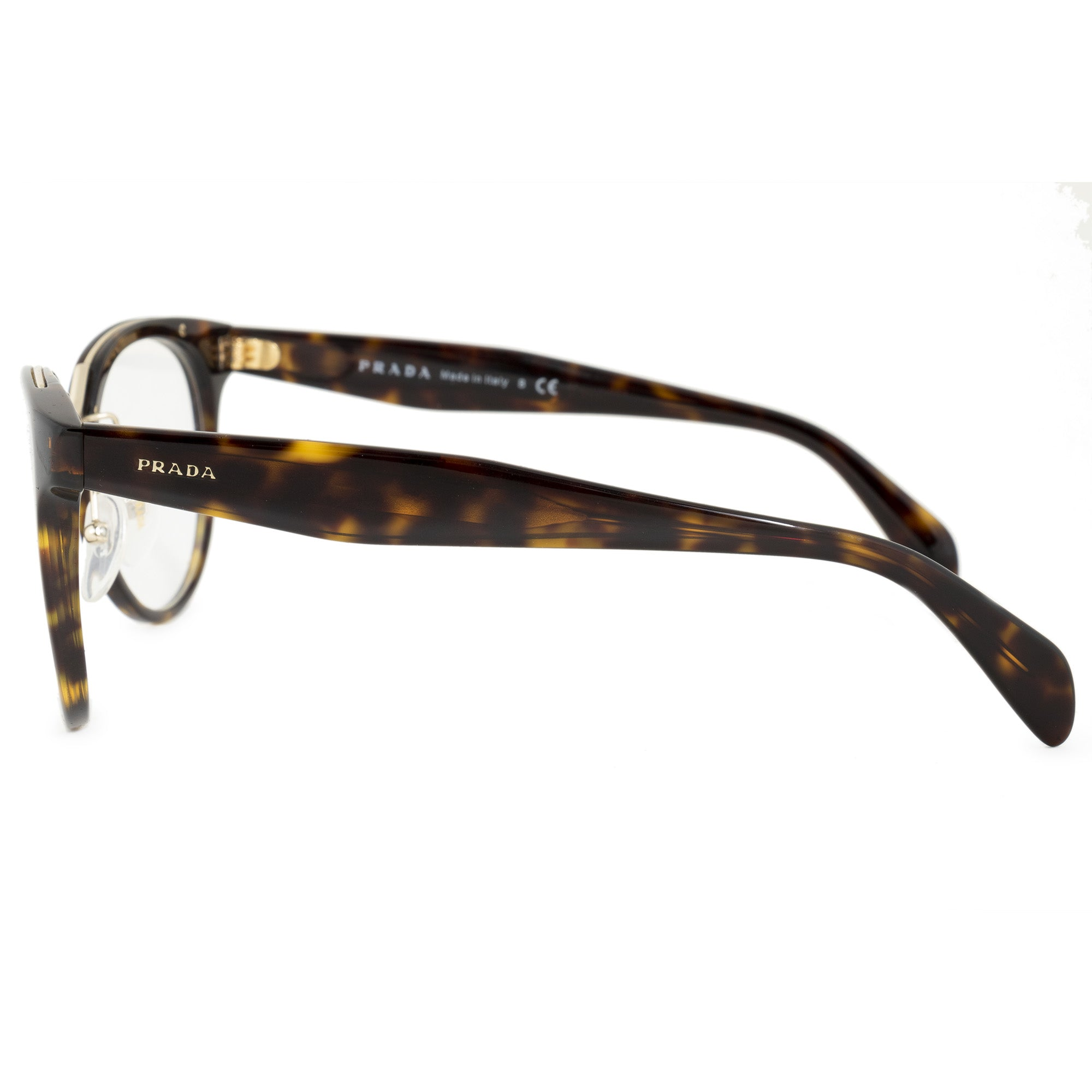 Prada Catwalk Inspiration PR 03UV 2AU1O1 51 Cat Eye Eyeglasses Frames