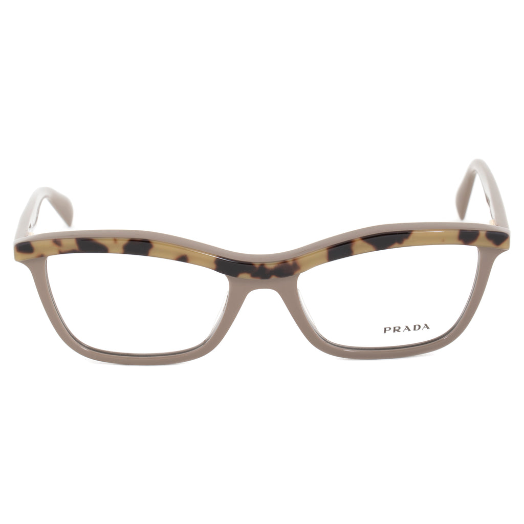 Prada PR17PV MA61O1 Butterfly | Powder Rose/Light Havana| Eyeglass Frames