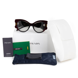 Prada Special Project PR 10US I7Y0A7 54 Butterfly Sunglasses