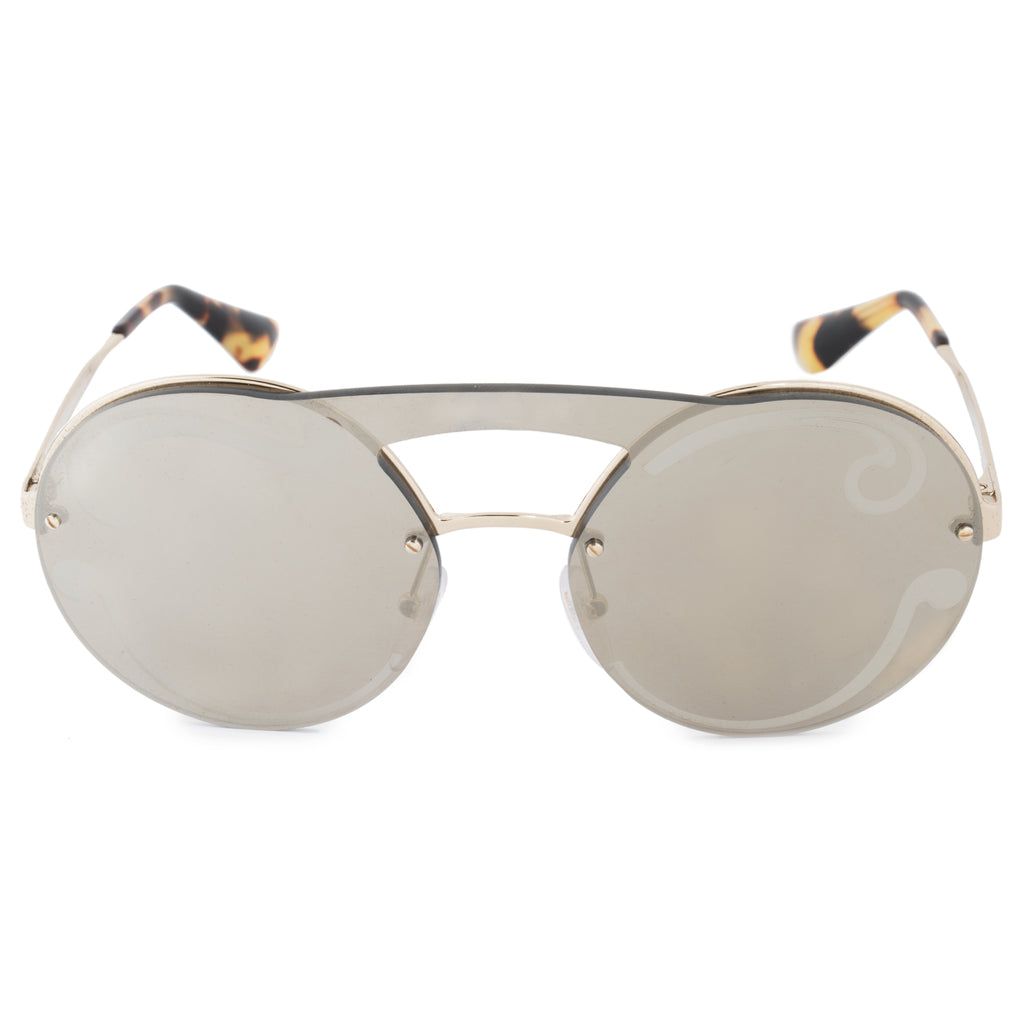 Prada Cinema Evolution Single Lens Round Sunglasses PR65TS ZVNODW 36