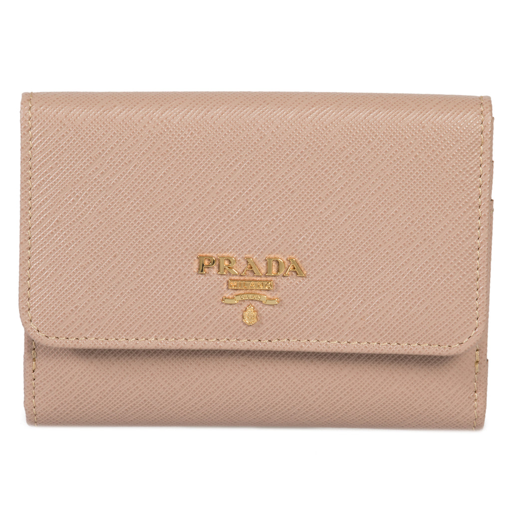 Prada Cameo Saffiano Leather Flap Wallet 1MH523 QWA F0770