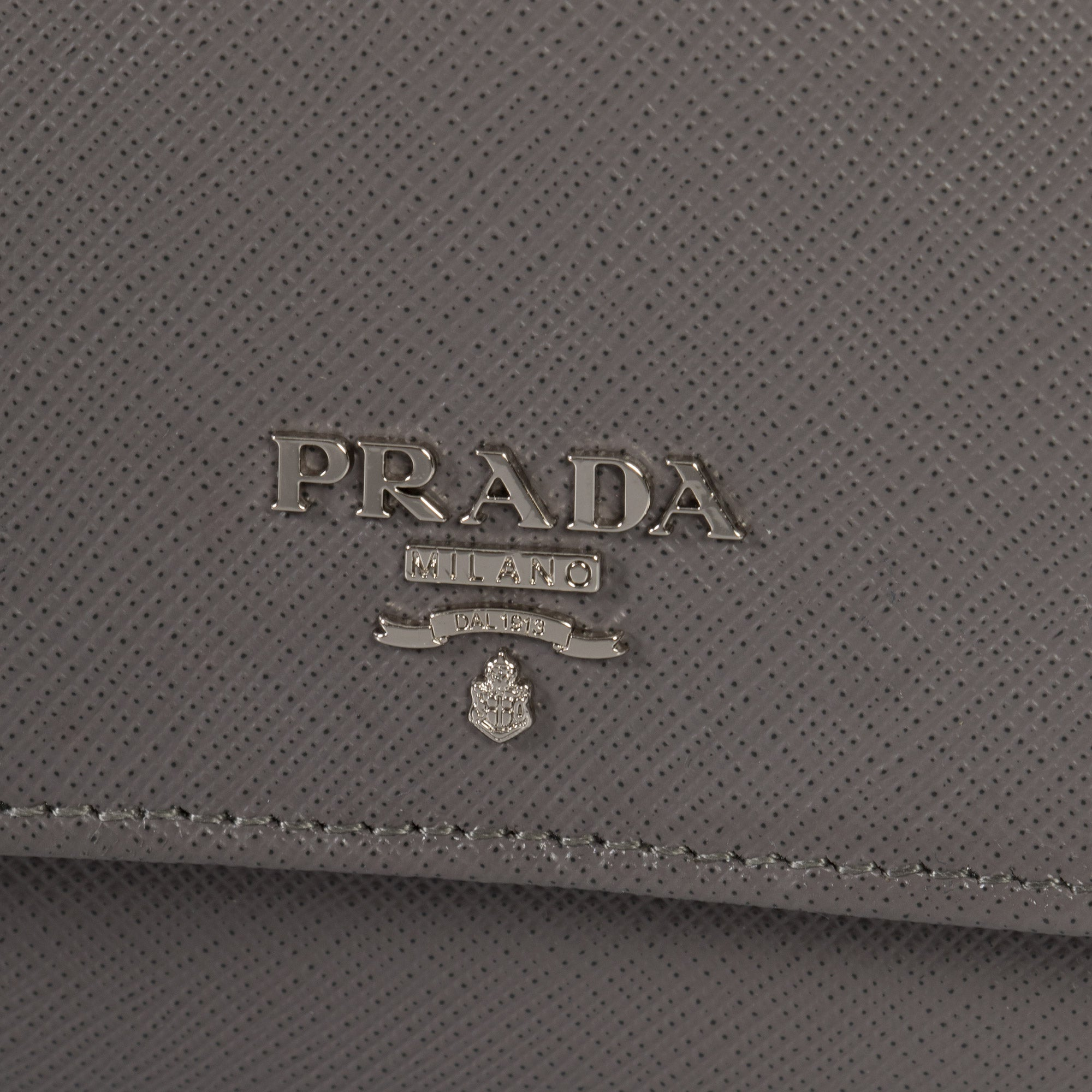 Prada Marble Saffiano Leather Flap Wallet 1MH523 QWA F0K44