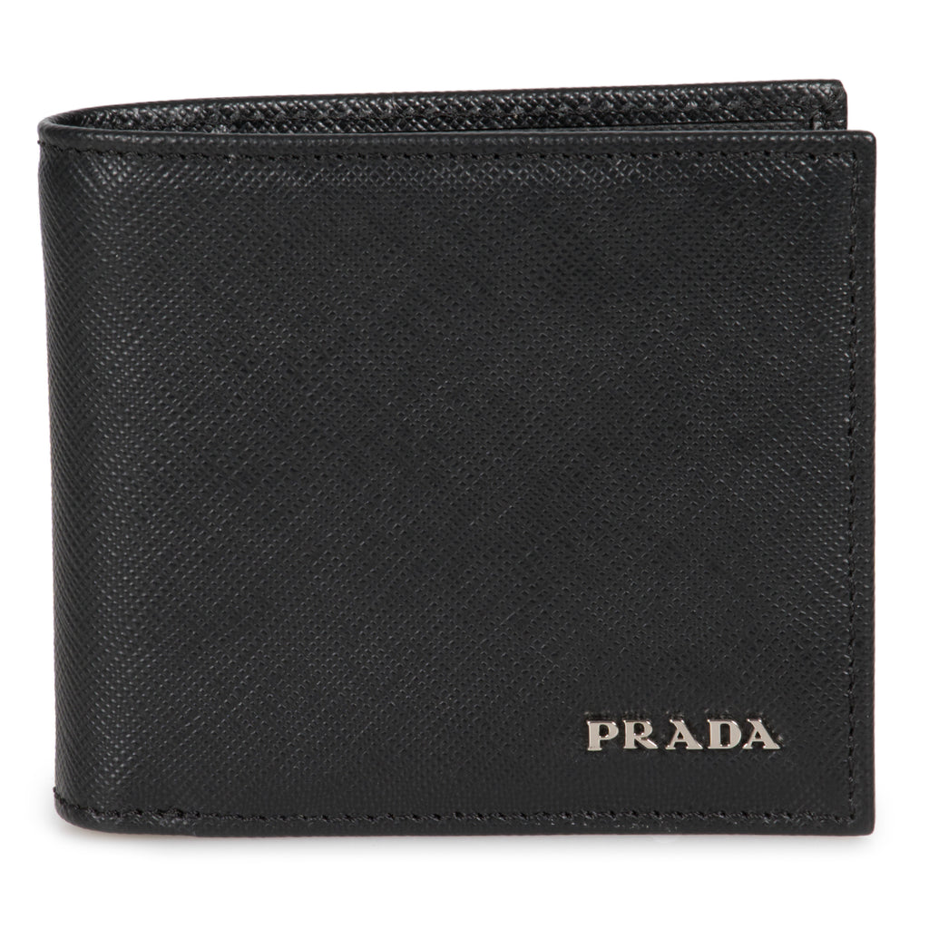 Prada Black Saffiano Leather Wallet 2MO912 QWA F0002