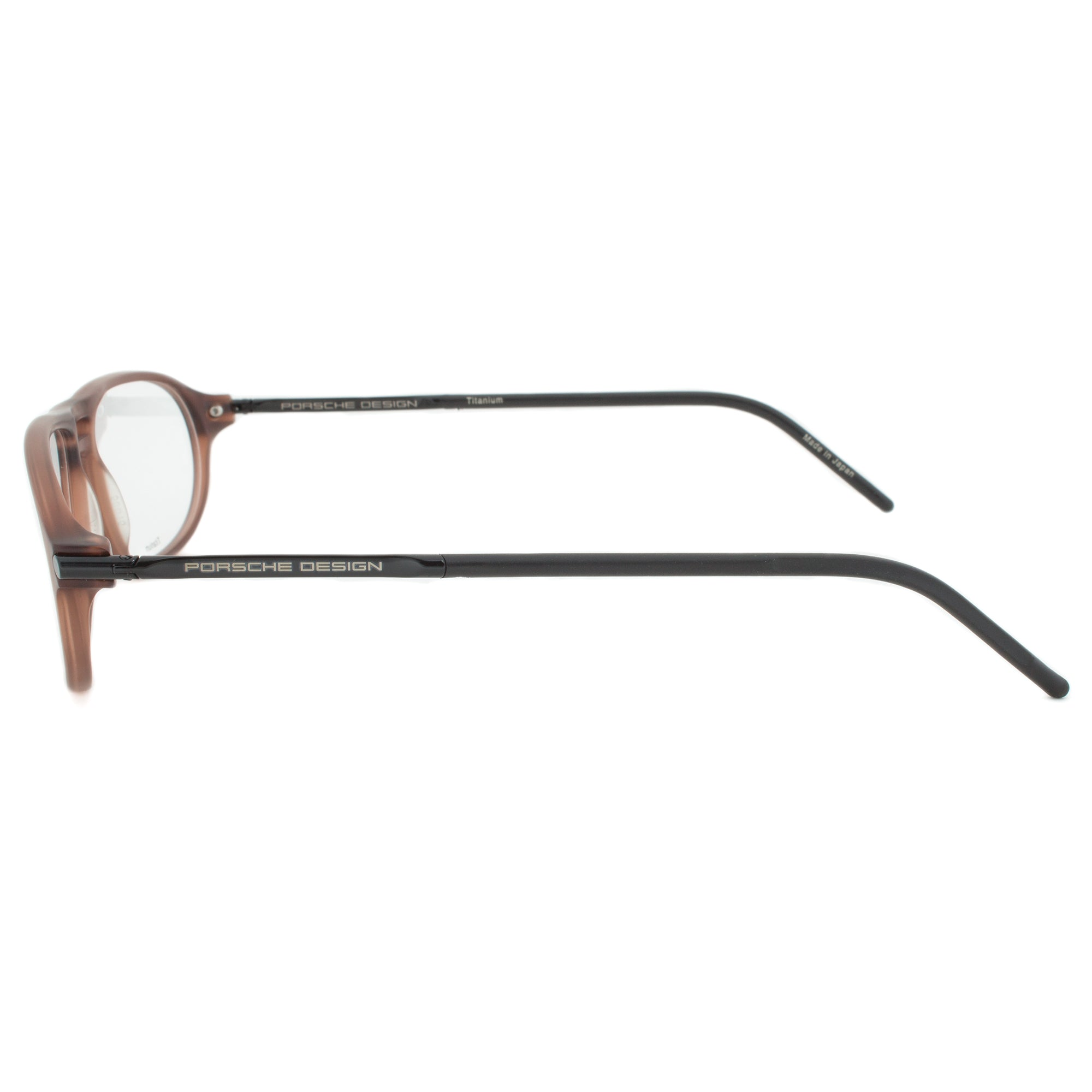 Porsche Design P8138 B Oval | Caramel Brown| Eyeglass Frames