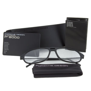 Porsche Design P8138 C Oval | Black| Eyeglass Frames