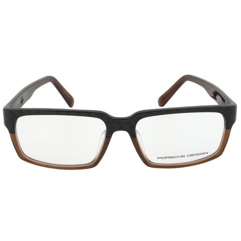 Porsche Design P8191 M Rectangular | Carbon/Brown| Eyeglass Frames