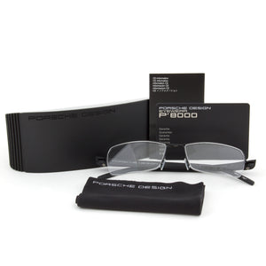 Porsche Design P8210 D Rectangular | Dark Grey| Eyeglass Frames