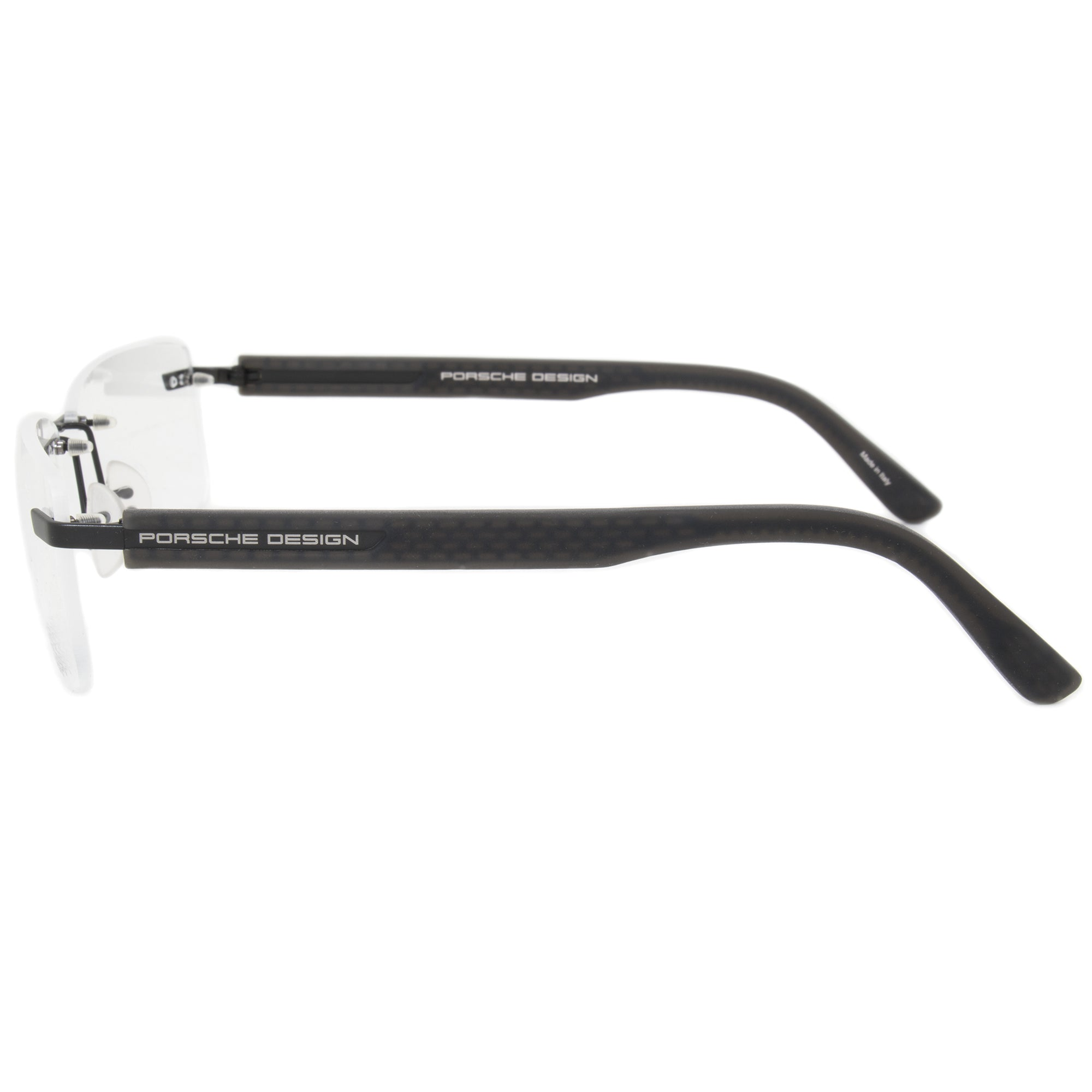 Porsche Design P8232 A Rectangular | Matte Black| Eyeglass Frames