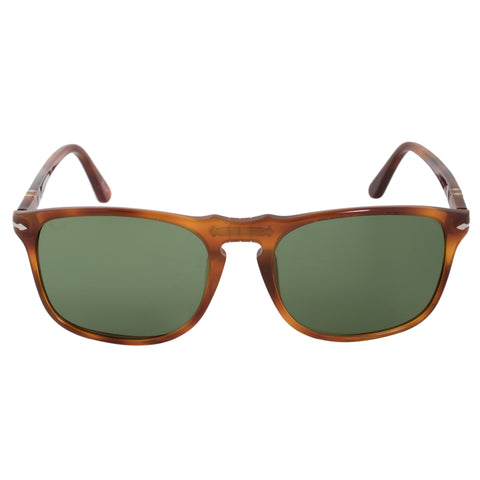 Persol Square Vintage Celebration Sunglasses PO3059S 96 4E 54 | Terra di Siena Frame | Grey Lenses