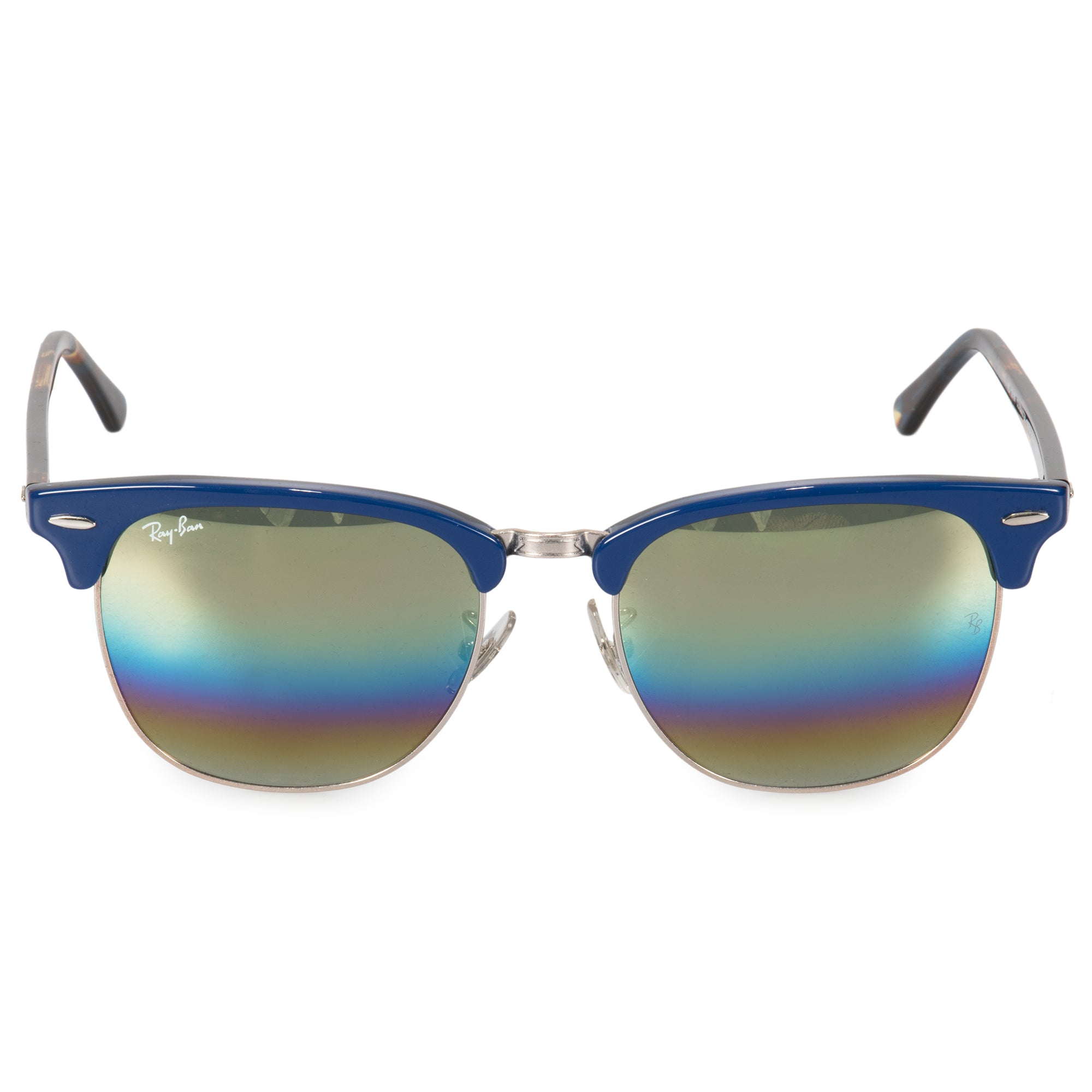 67796637607c Ray Ban Clubmaster Acetate And Metal Sunglasses – Southern ...