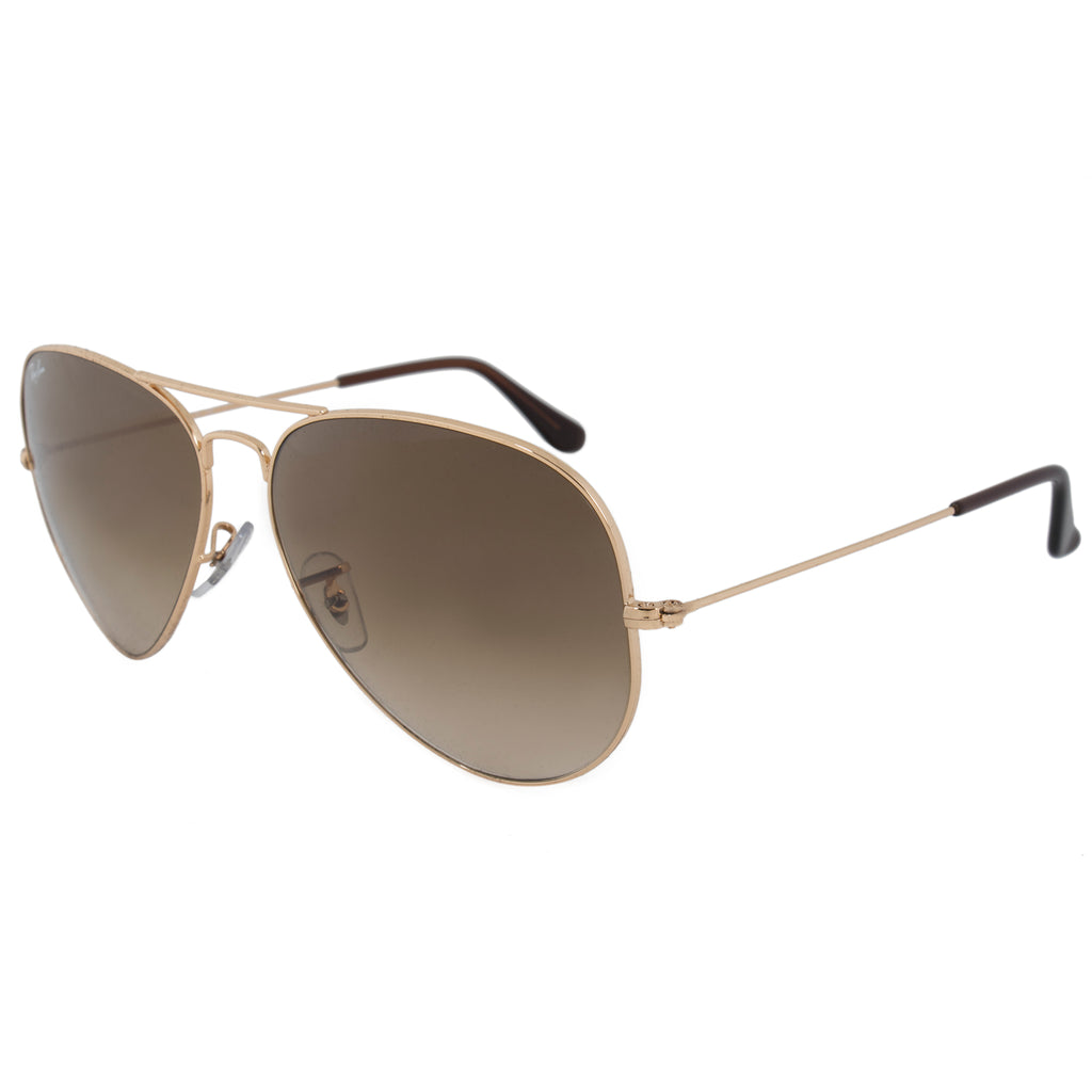 Ray-Ban Aviator Large Metal Sunglasses RB3025 001 51 62 | Gold Frame ...