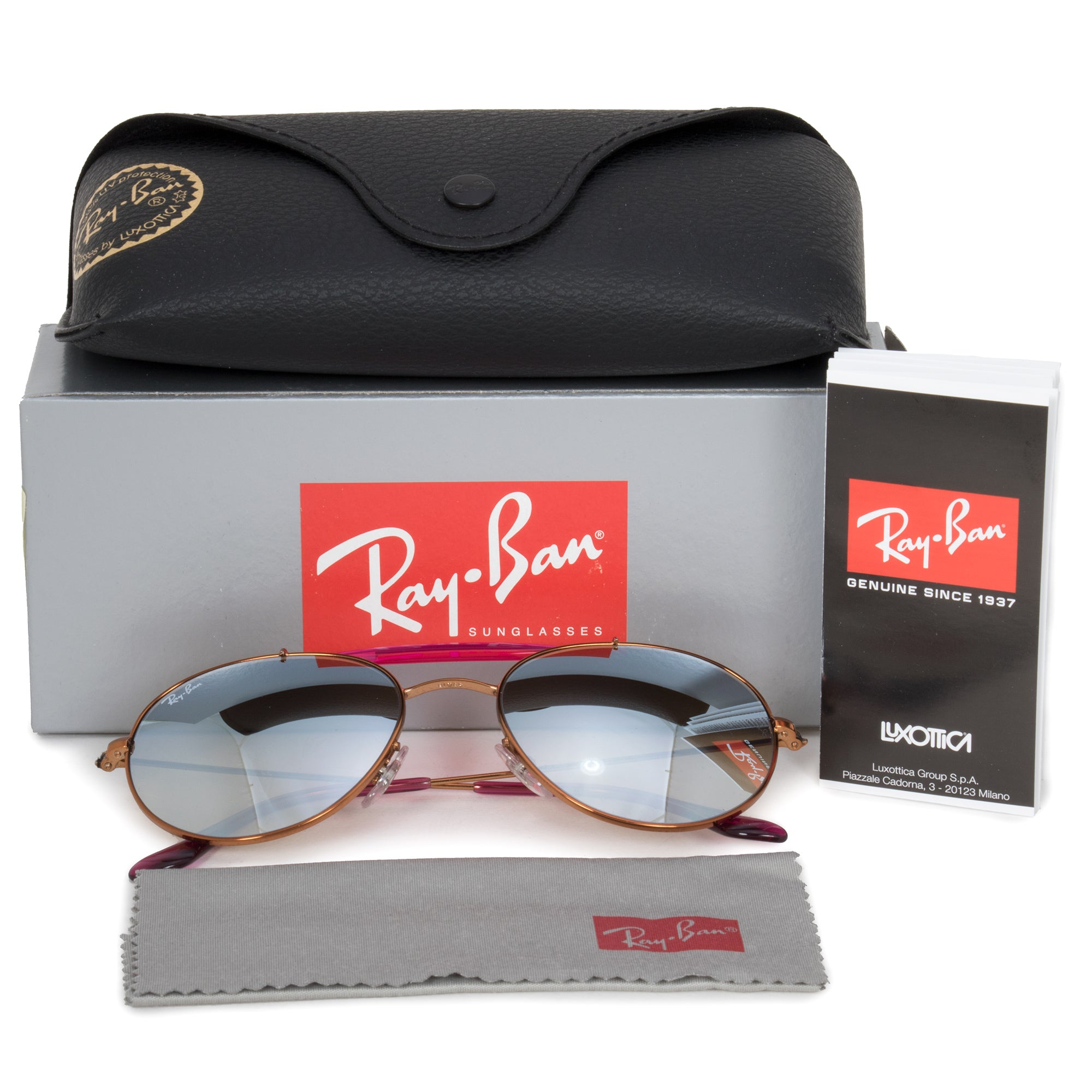 Ray-Ban Aviator Sunglasses RB3540 198/9U 53