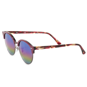 Ray-Ban Clubround Mineral Flash Lens Sunglasses RB4246-F 1222C2 53