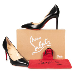 best authentic ef277 287e6 Christian Louboutin Christian Louboutin Pigalle Black Nappa ...