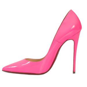 Christian Louboutin So Kate Fuchsia Patent Leather 100mm Pumps