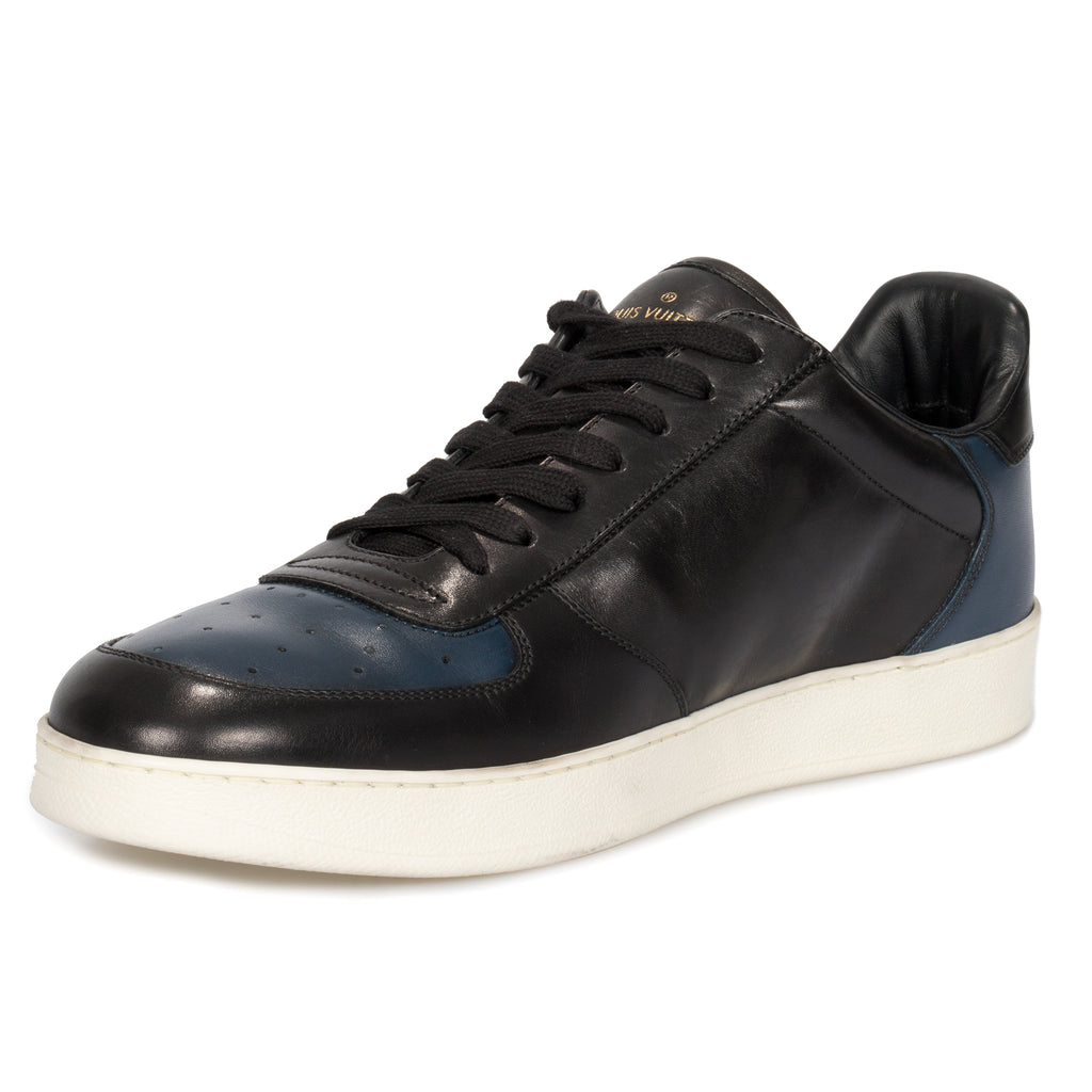 Louis Vuitton Rivoli Black and Navy Sneakers