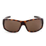 Timberland TB7092 52E Rectangular Sunglasses | Tortoise Brown Frame | Brown Lens