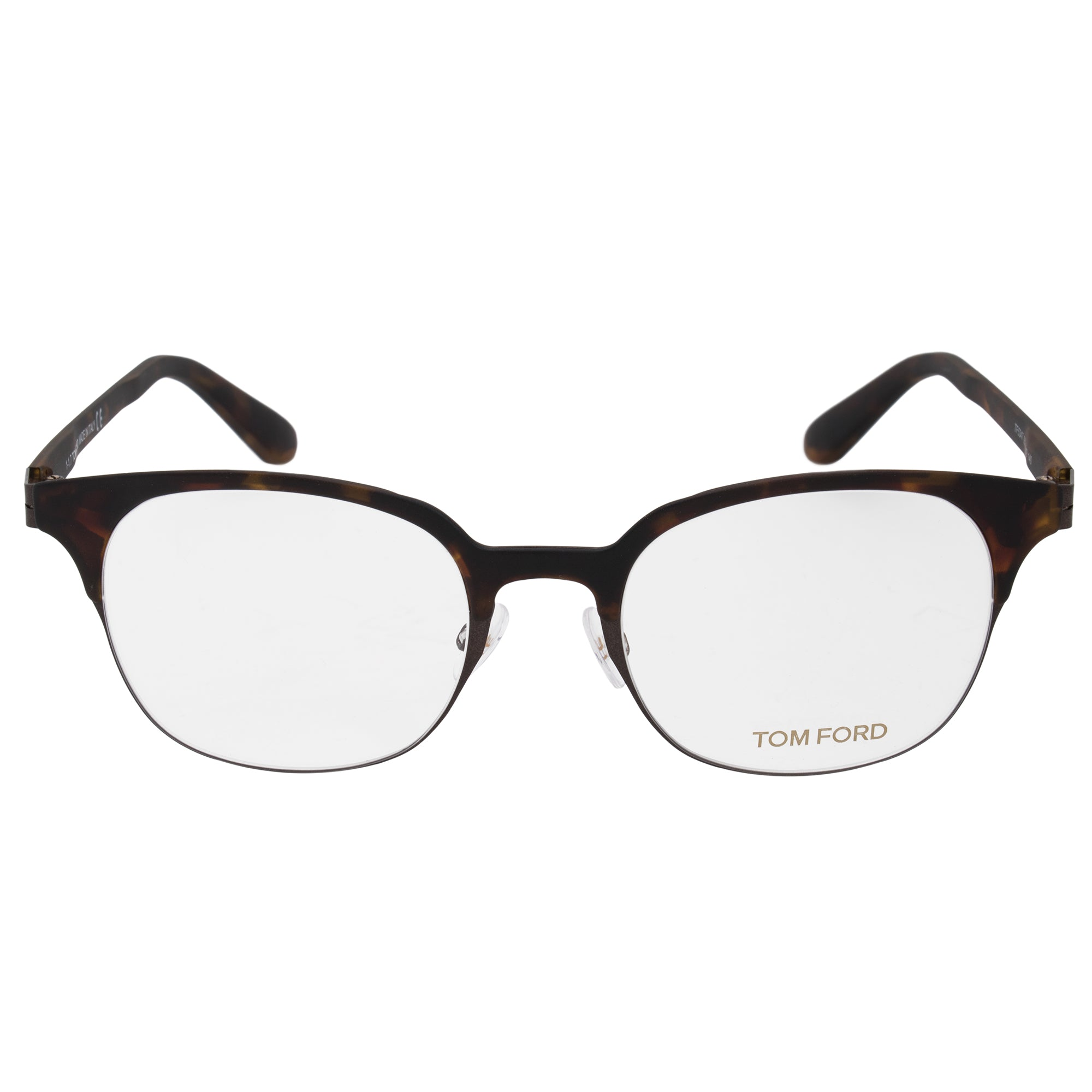 Tom Ford FT5347 Square | Matte Havana | Eyeglass Frames