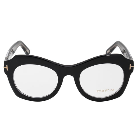 Tom Ford FT5360 5 Oval | Black| Eyeglass Frames