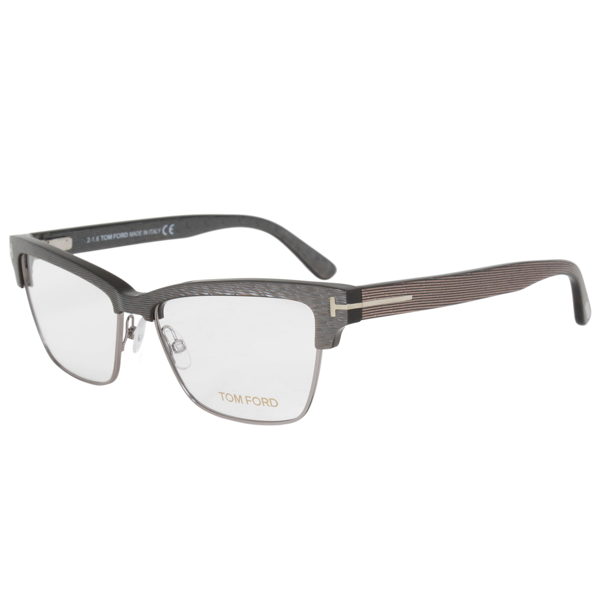 Tom Ford FT5364 Butterfly | Silver/Brown| Eyeglass Frames