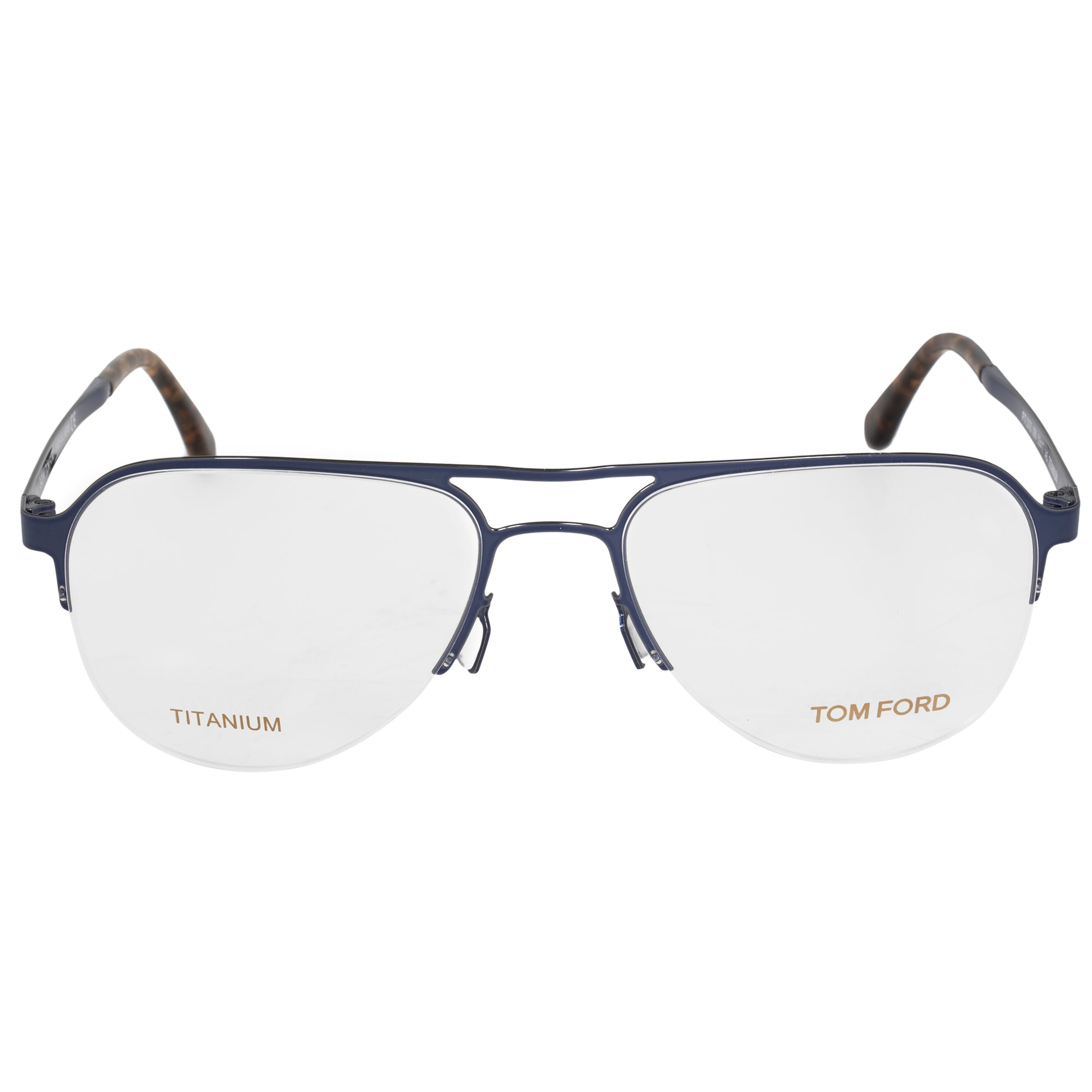 Tom Ford FT5370 90 Aviator | Blue| Eyeglass Frames