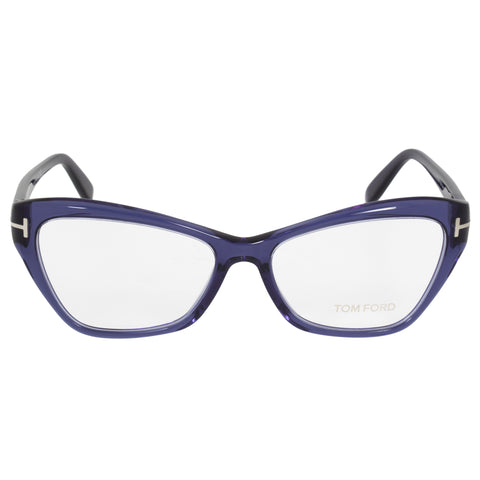 Tom Ford FT5376 90 Butterfly | Blue| Eyeglass Frames