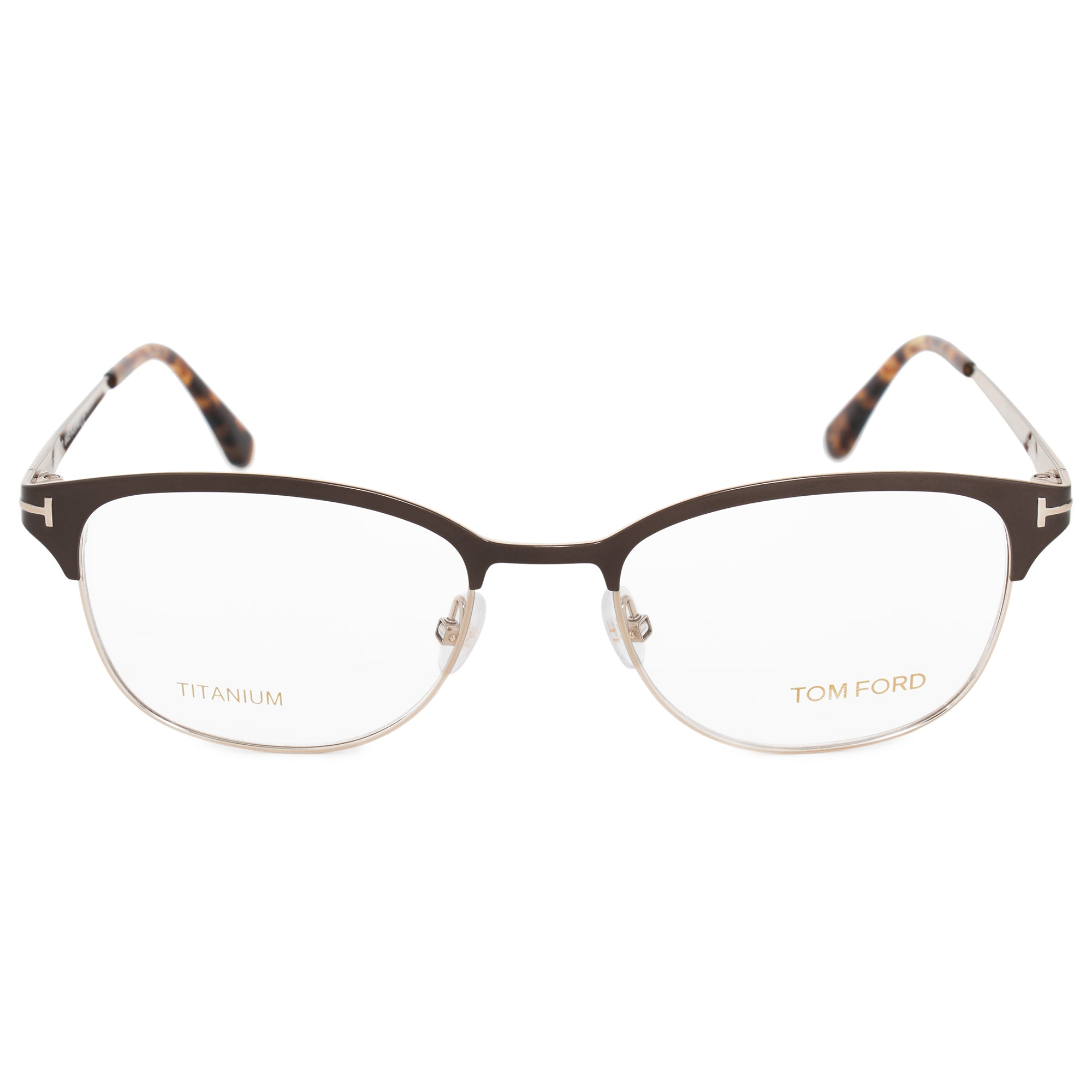 Tom Ford FT5381 050 52 Wayfarer | Brown | Eyeglass Frames