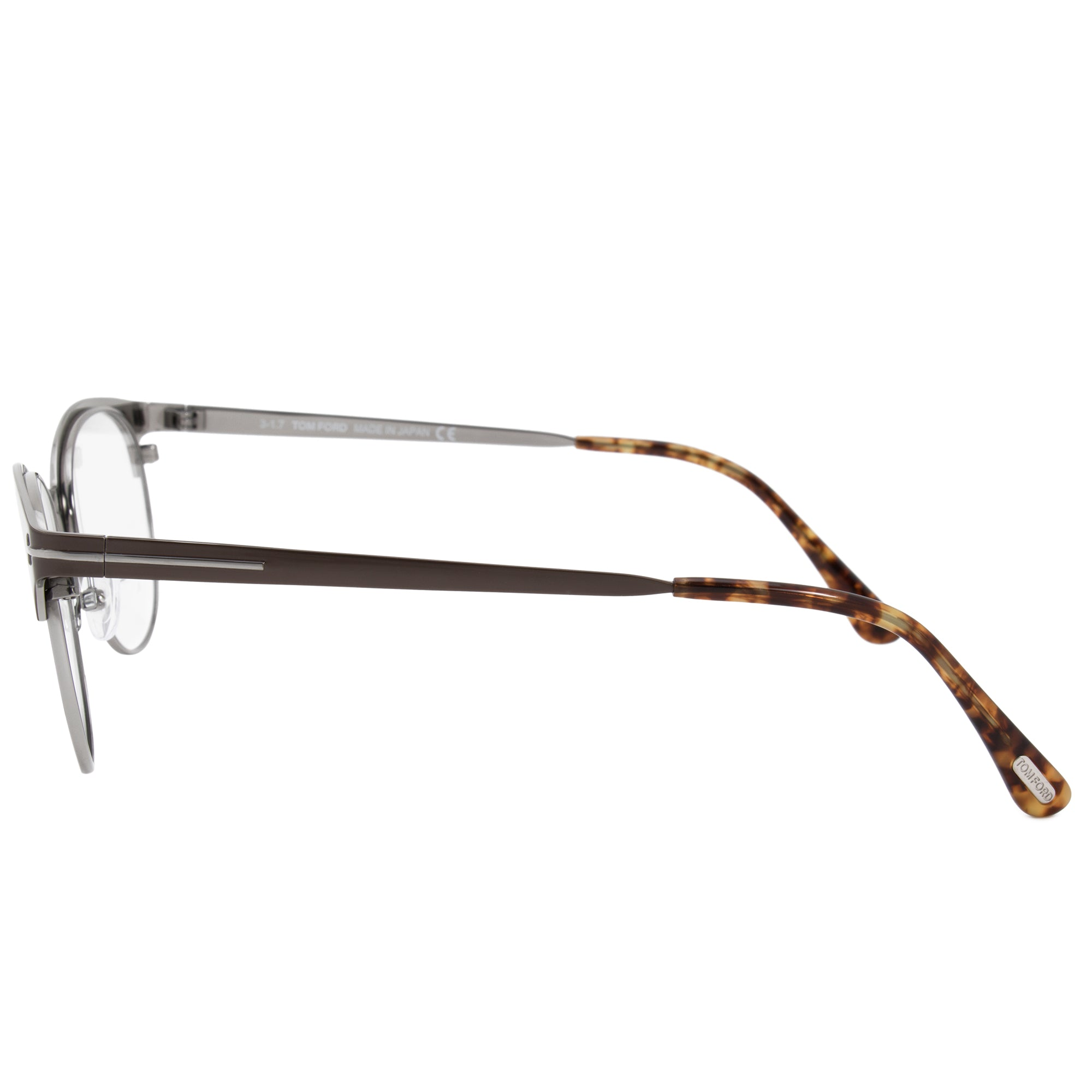 Tom Ford FT5382  Round | Brown | Eyeglass Frames