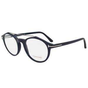 Tom Ford FT5455 Round | Blue | Eyeglass Frames