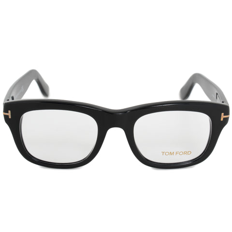 Tom Ford FT5472 001 49 Square | Black | Eyeglass Frames