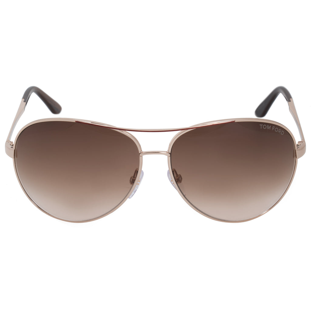 Tom Ford Charles Aviator Sunglasses FT0035 772 62