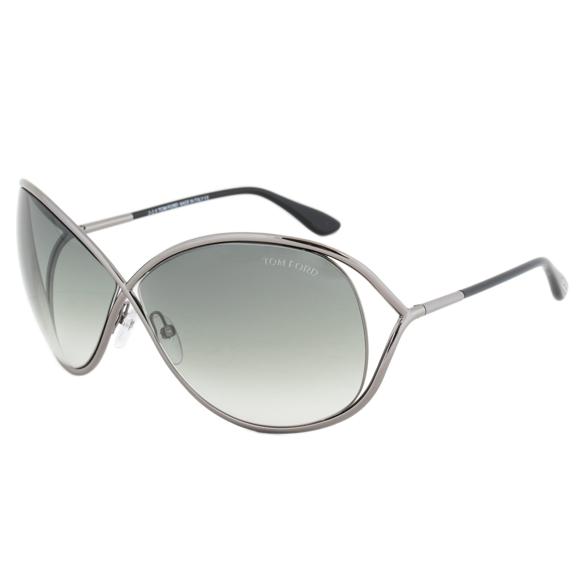 Tom Ford Miranda Sunglasses FT0130 08B | Gunmetal Frame | Dark Grey Gradient Lens