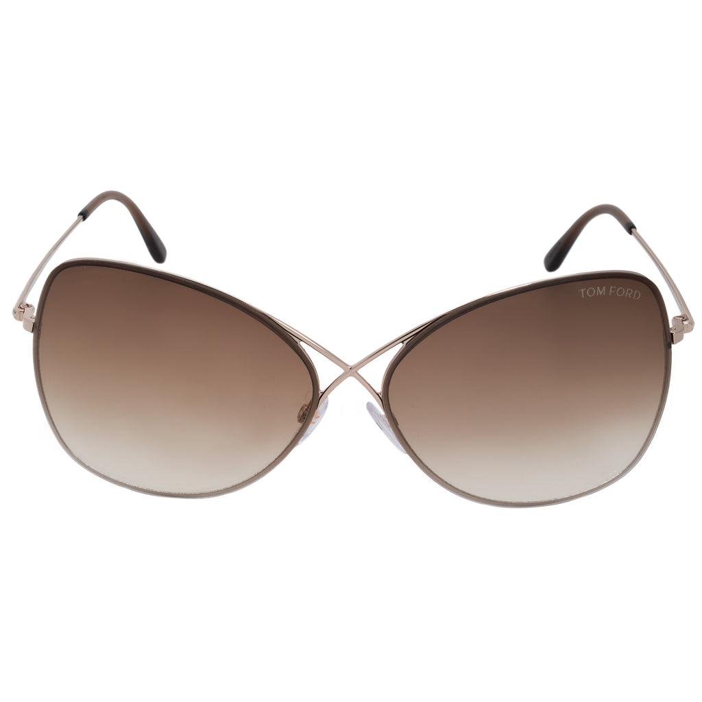 Tom Ford Colette Butterfly Sunglasses FT0250 28F 63