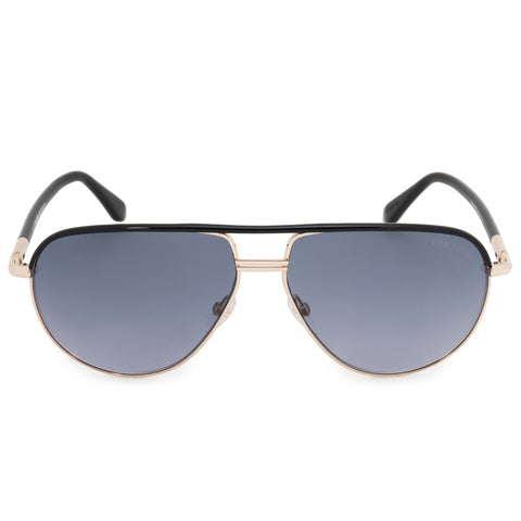 Tom Ford Cole Aviator Sunglasses FT0285 01B 61