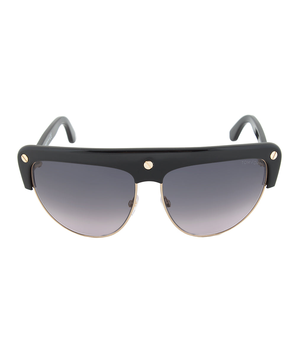Tom Ford Liane Sunglasses  FT0318 | Grey Gradient Lens