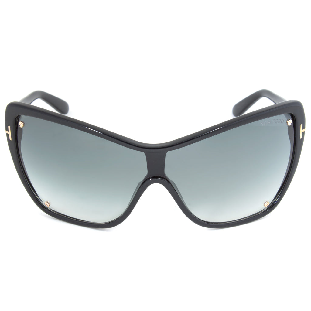 Tom Ford Ekaterina Sunglasses FT0363  | Black Frame | Grey Lens