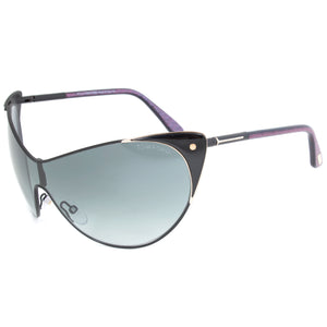 Tom Ford Vanda Sunglasses FT0364 | Black Frame | Grey Gradient Lens