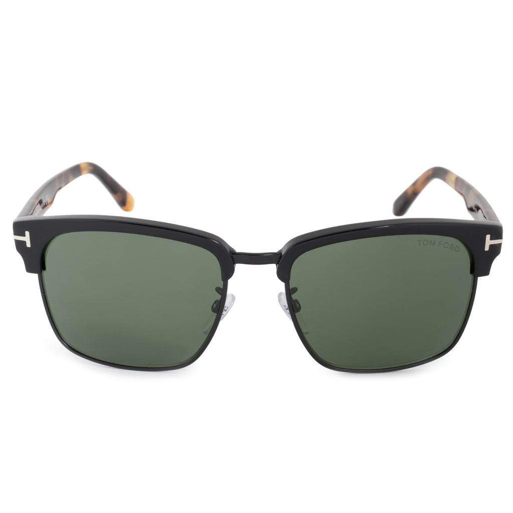 Tom Ford River FT0367 02B 57 Square Sunglasses