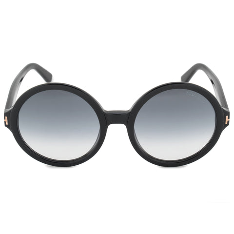 Tom Ford Juliet Round Sunglasses FT0369/S 01B 55