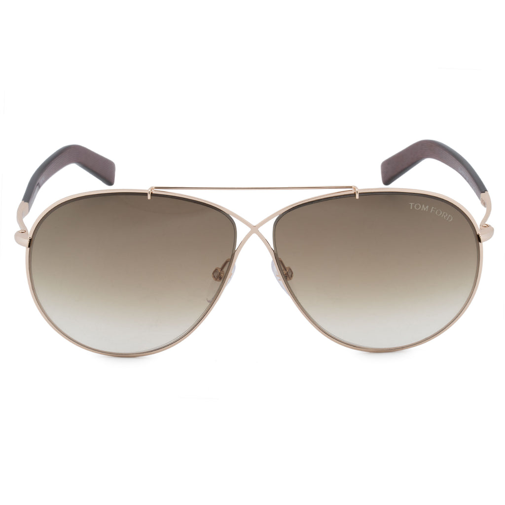 Tom Ford Eva Pilot Sunglasses FT0374 28F 61