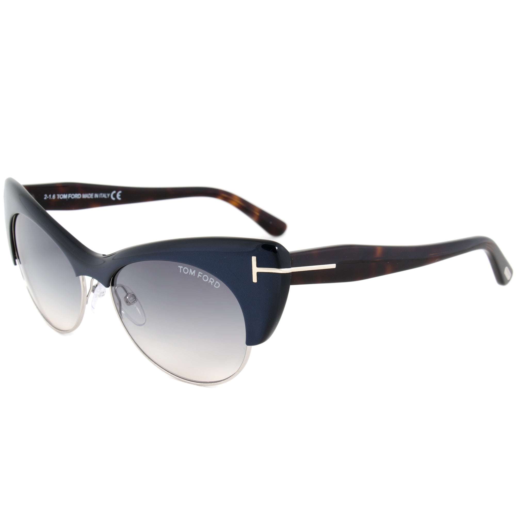 Tom Ford Lola Sunglasses FT0387 | Blue Gradient Lens