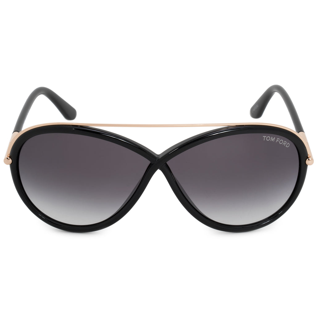 Tom Ford Tamara Oval Sunglasses FT0454 | Grey Gradient Lenses