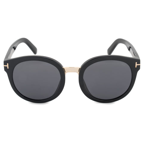 Tom Ford Round Sunglasses FT0478 01A 54