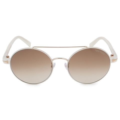 Tom Ford Round Sunglasses FT0486-D 33F 55