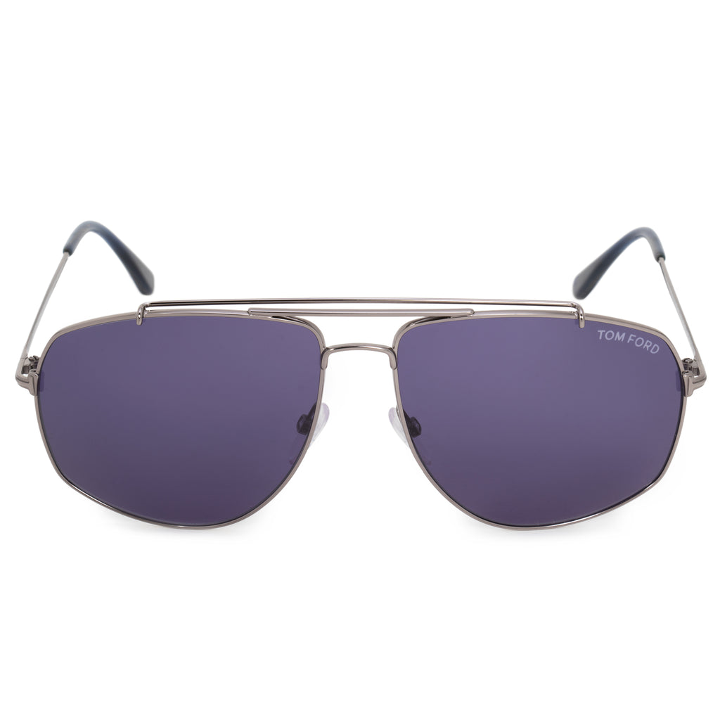 Tom Ford Georges Aviator Sunglasses FT0496  | Gunmetal Frames