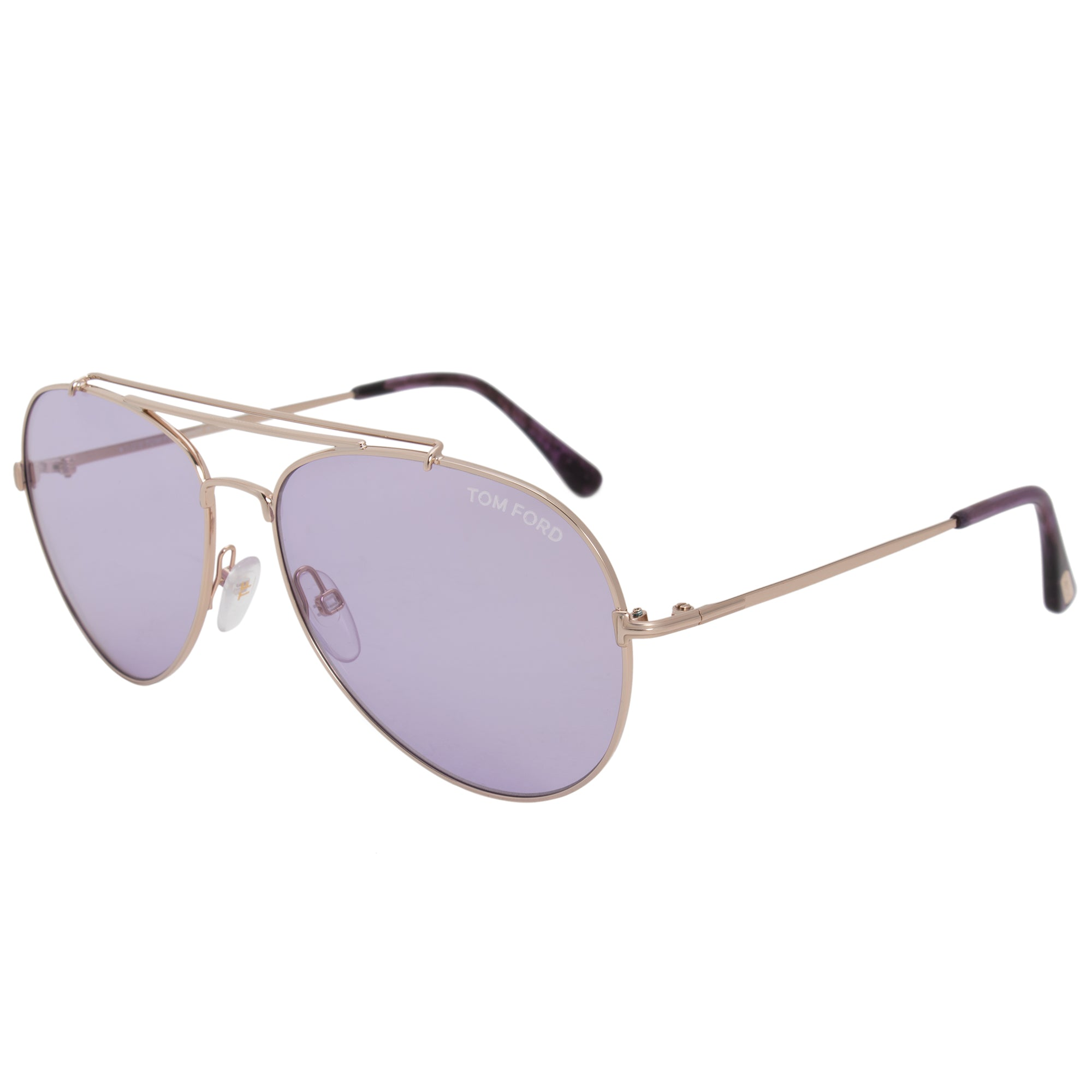 Tom Ford Indiana Aviator Sunglasses FT0497