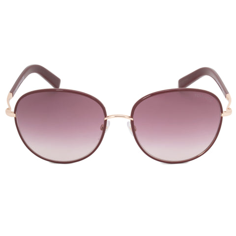 Tom Ford Georgia Oval Sunglasses FT0498 69T 59